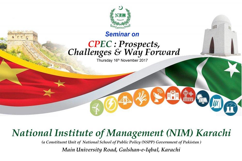 CPEC Seminar II
