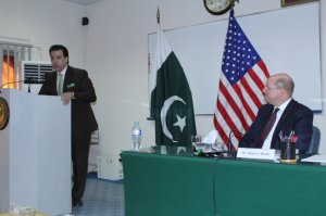 Mr. Khurshid Marwat, participant thanks to US Consul General visit