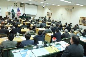 Lecture of US Consul General Mr. Brian G. Heath