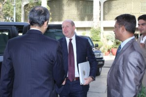 Arrival of US Consul General Mr. Brian G. Heath